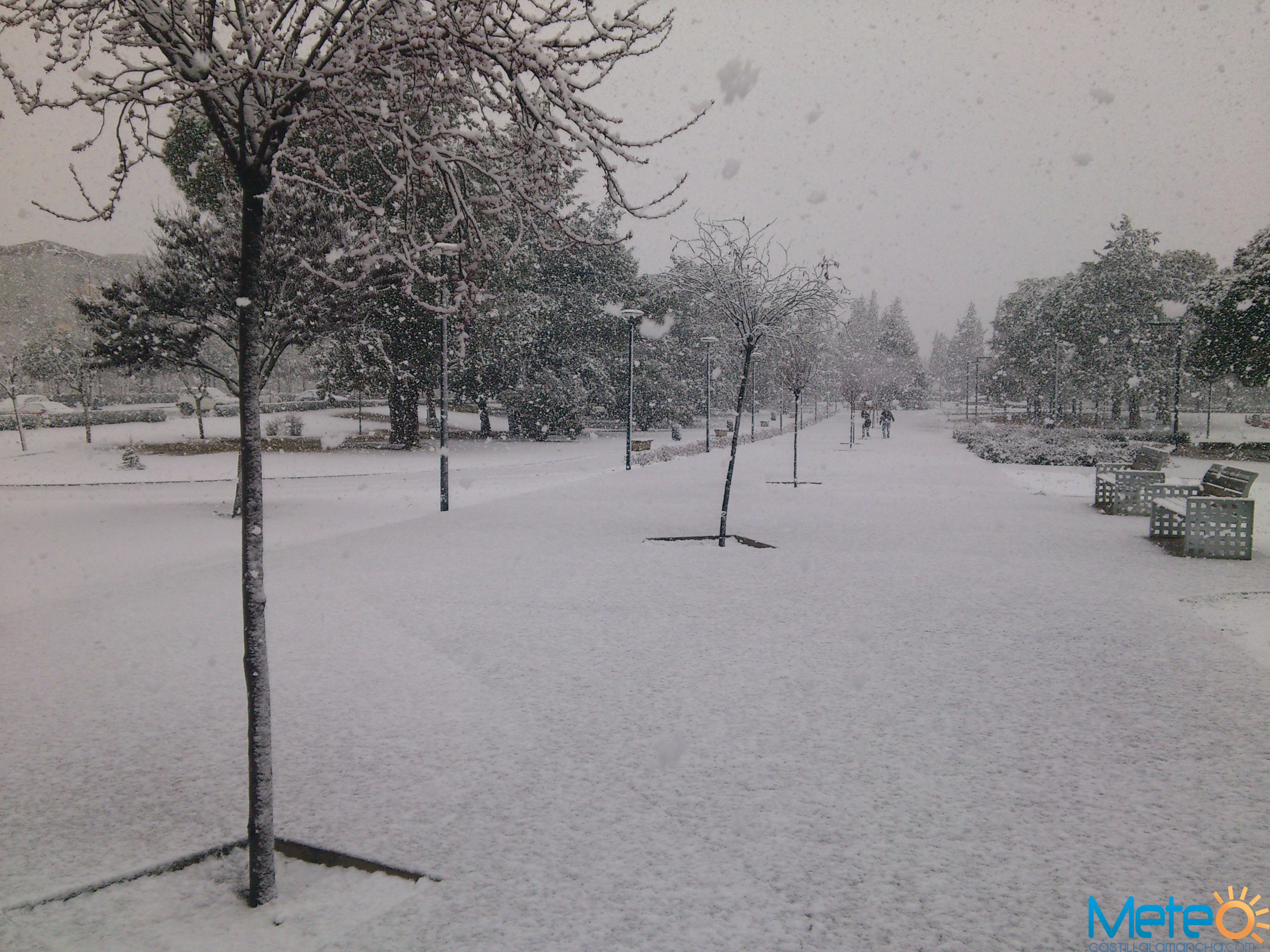 28 de febrero de 2013: una nevada tardía en Ciudad Real