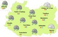 El tiempo en Ciudad Real: lluvias pero menos frío
