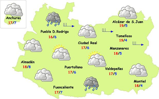 El tiempo en Ciudad Real: jueves primaveral y viernes con cambios