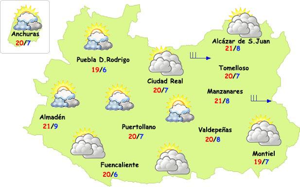Comienzan a bajar las temperaturas en Ciudad Real