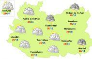 El tiempo en Ciudad Real: pocas tormentas y menos calor