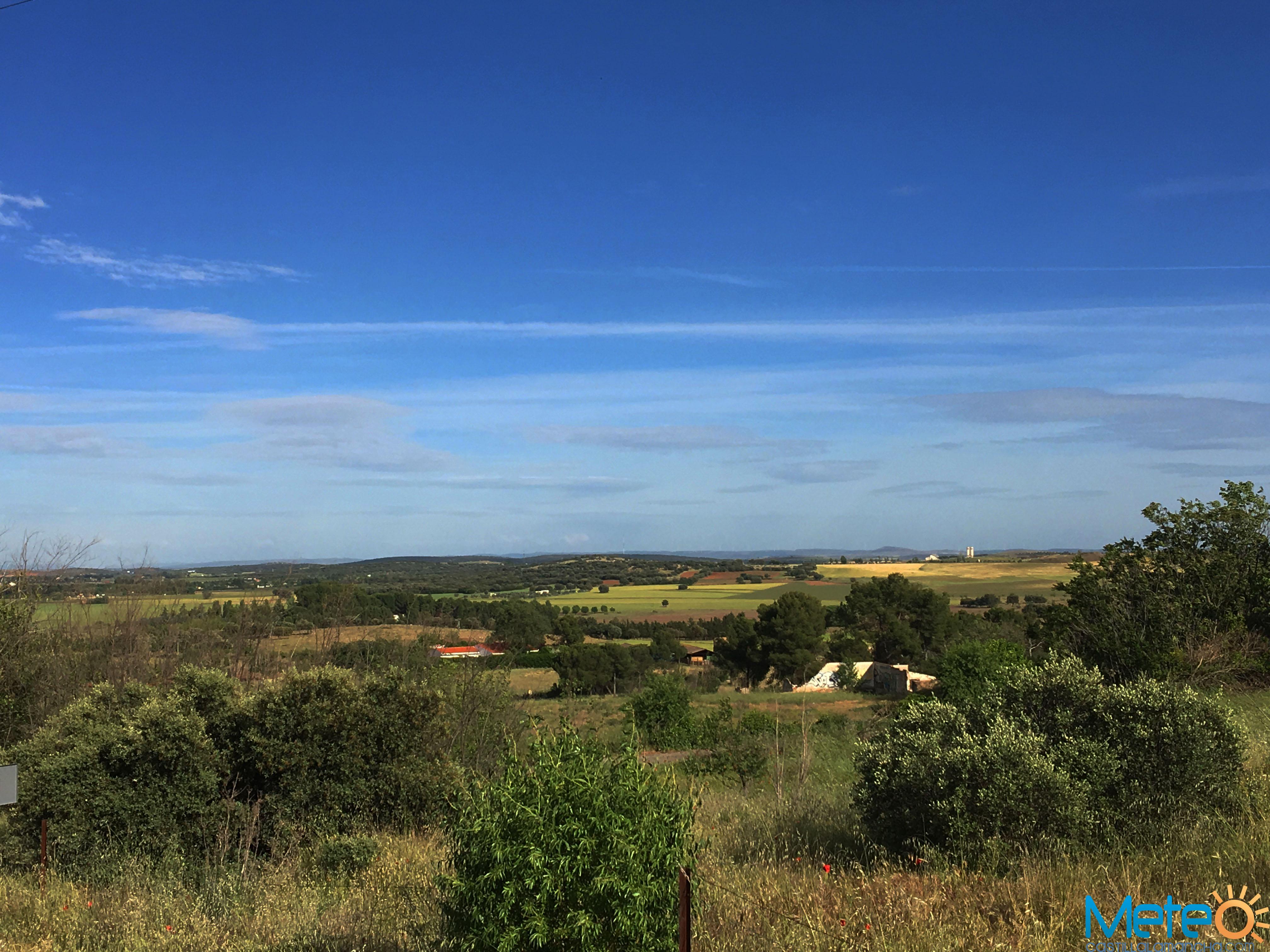 Mayo fue muy cálido y seco en Castilla-La Mancha