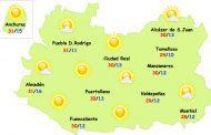 El tiempo en Ciudad Real: subida de temperaturas