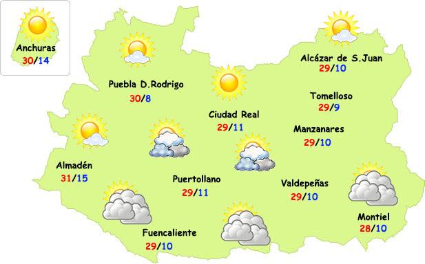 El tiempo en Ciudad Real: Pilarica de calor