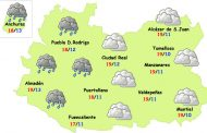 Cambio de tiempo en la provincia de Ciudad Real