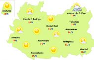 Seguirá el tiempo suave en Ciudad Real