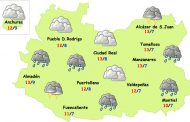 Fin de semana de lluvia y frío en Ciudad Real