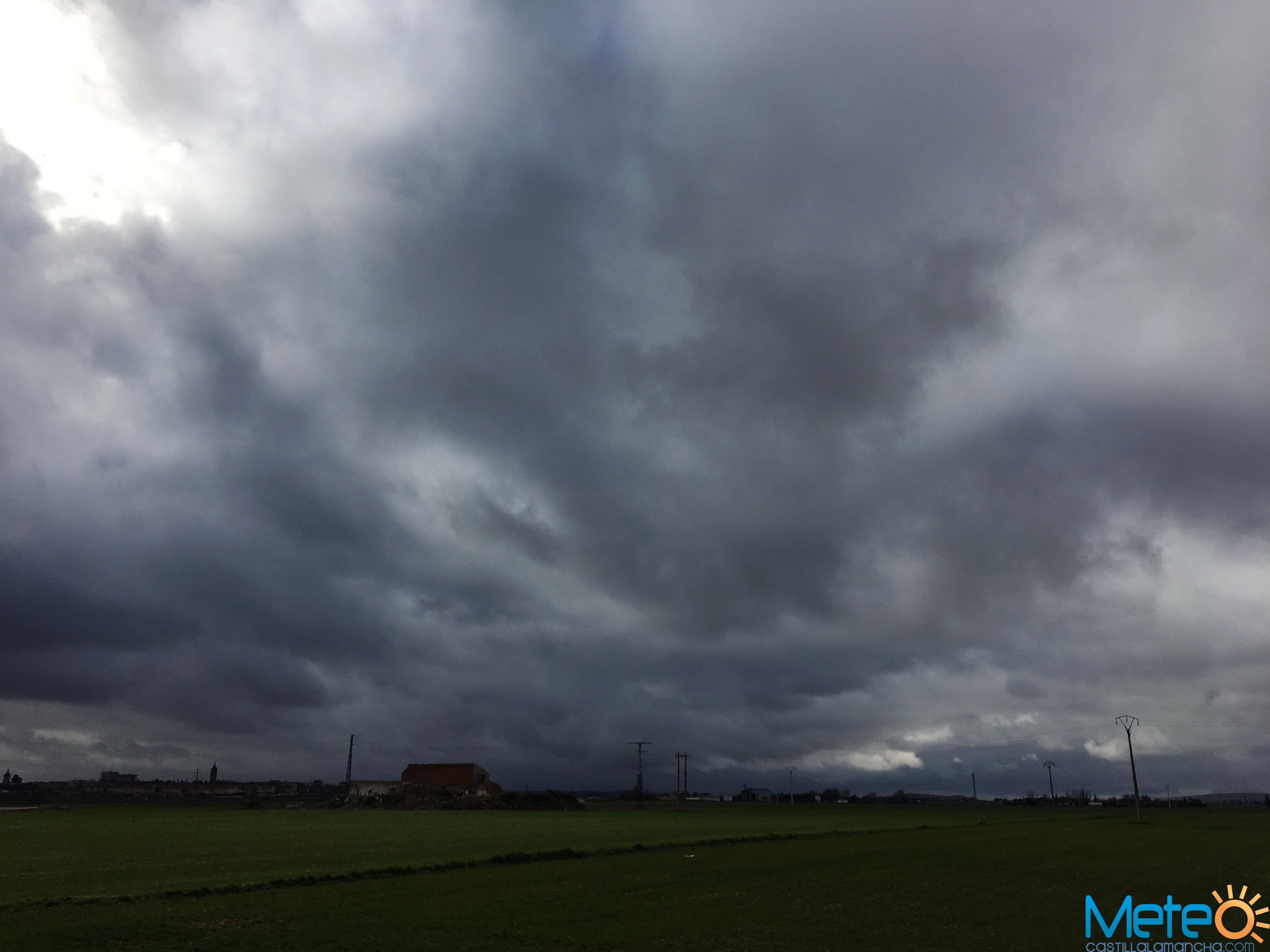Viernes lluvioso en Ciudad Real