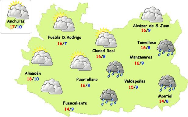 Jueves más fresco en Ciudad Real