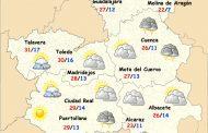 Día de Castilla-La Mancha con tormentas de tarde