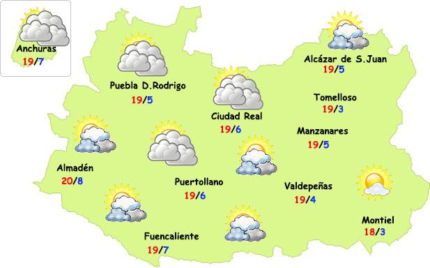 El tiempo en Ciudad Real: más nubes sin lluvia