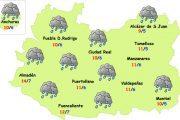 Empieza una semana de lluvias en Ciudad Real