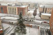La nieve viste de blanco Ciudad Real