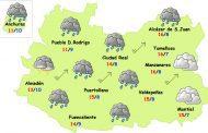 El tiempo en Ciudad Real: más lluvia y viento