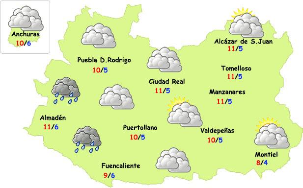 Nueva tregua de lluvias en Ciudad Real