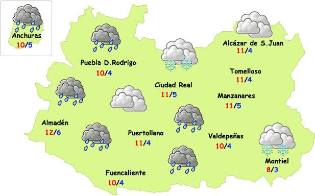 Viernes Santo inestable en la provincia de Ciudad Real