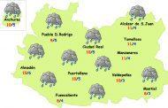 Más lluvia para la segunda mitad de la semana
