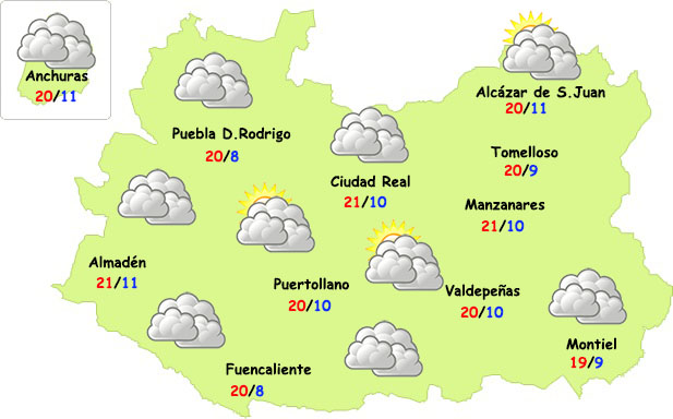 Pequeño descanso de tormentas en Ciudad Real