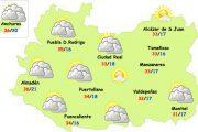 El tiempo en Ciudad Real: más nubes y un poquito menos calor