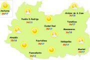 El tiempo en Ciudad Real: seguirá el calor normal de la época
