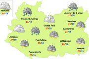 Sábado tormentoso en la provincia de Ciudad Real