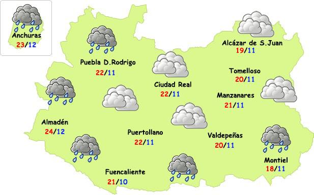 El temporal, finalmente, apenas dejará agua en Ciudad Real