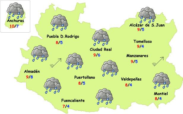 Tiempo de abrigo y paraguas para despedir octubre