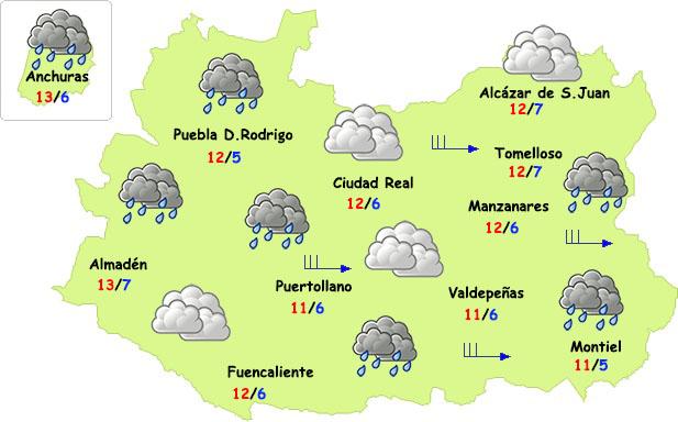 Vuelve el invierno a Ciudad Real