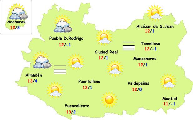 Fin de semana más invernal en Ciudad Real