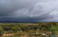 Por fin, paisajes de nubes, lluvia y granizo