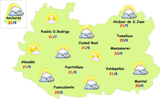 Extraordinario descenso de temperaturas en Ciudad Real