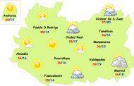 El tiempo en Ciudad Real: calor normal y...¿tormentas?