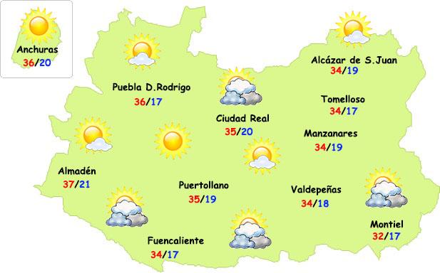 Septiembre empieza muy veraniego en Ciudad Real