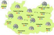 Sábado de lluvias y tormentas en Ciudad Real