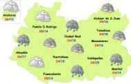 El tiempo en Ciudad Real: nuevo episodio de lluvias