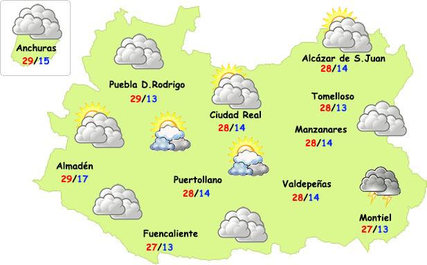 Comienza el cambio de tiempo este fin de semana en Ciudad Real