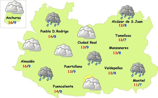 El otoño se asienta en Ciudad Real con algunas lluvias y más frío