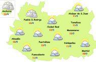 El tiempo en Ciudad Real: tregua de precipitaciones