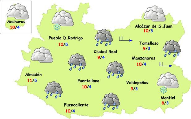 Zarpazo invernal en Ciudad Real