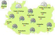 El tiempo en Ciudad Real: nuevas lluvias y más frío