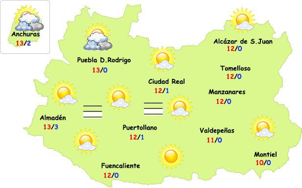 El tiempo se estabiliza este fin de semana en Ciudad Real