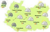 Se inicia una semana de lluvias y viento en Ciudad Real