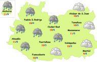 El tiempo en Ciudad Real: turno de la lluvia