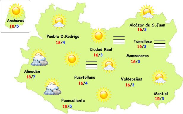 Nueva semana primaveral por delante en Ciudad Real