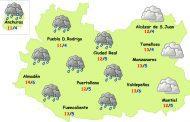 Este lunes regresa la lluvia a Ciudad Real
