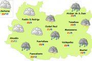 Regresan las lluvias y las tormentas a la provincia de Ciudad Real