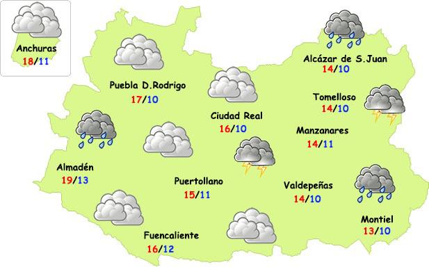 Viernes Santo de lluvia en Ciudad Real