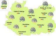 Lunes de Pascua de lluvias y tormentas en toda la provincia