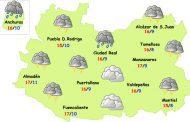 Miércoles de lluvias abundantes en la provincia de Ciudad Real