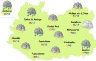 Vuelven las tormentas este viernes y el sábado a la provincia de Ciudad Real